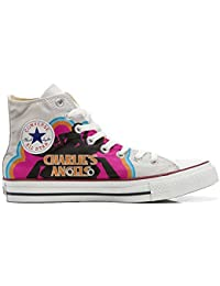 Converse All Star Customized - Zapatos Personalizados (Producto Artesano) Charlies Angels