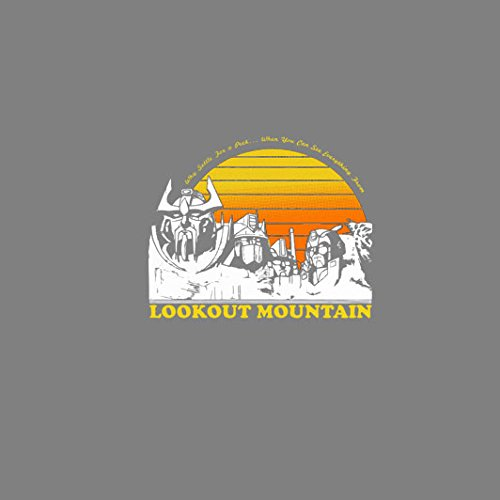 Lookout Mountain - Stofftasche / Beutel Grau