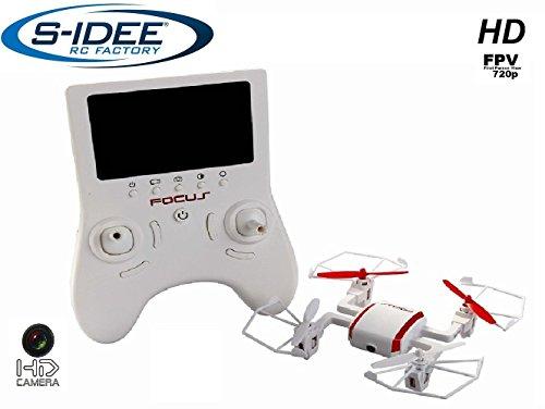 s-idee® 01626 Quadrocopter TR002 FPV 5.8 GHz Übertragung HD KAMERA 4.5 Kanal 2.4 Ghz Drohne mit Gyroscope Technik DROHNE MIT WIFI FPV Drone HD Kamera
