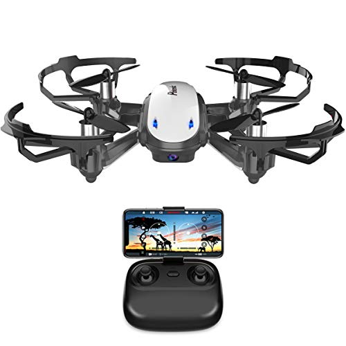Potensic-Drone-avec-camra-WiFi-FPV-Drone-avec-Camra-HD-D20-Fonction-de-Maintien-de-laltitude-de-capteur-de-gravit-Cadeau-de-Nol