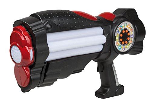 Pistole mit Licht und Sound, ca. 37 cm (Science Themen Kostüme)