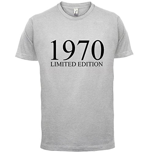 1970 Limierte Auflage / Limited Edition - 47. Geburtstag - Herren T-Shirt - 13 Farben Hellgrau