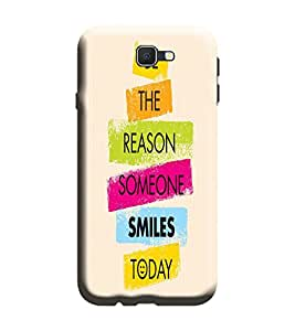 Gismo Samsung Galaxy A3-6 (2016 Edition) Cover / Samsung Galaxy A3 6 (2016 Edition) Back Cover / Samsung A3 2016 Edition Designer Printed Back Case - Quote happiness