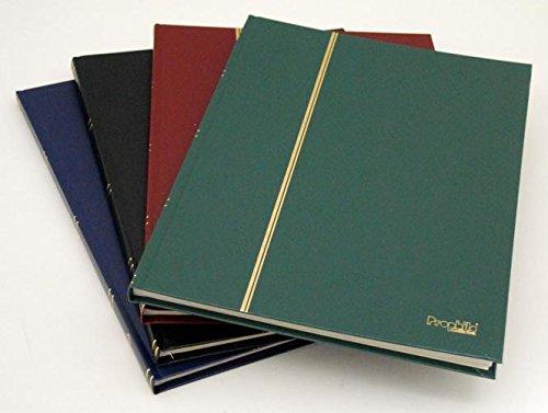 A4 classificatori 16 pagine bianco, Prophila Leuchtturm, verde colori
