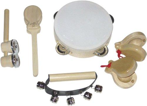 Bieco 23-021819 Holz-Musikinstrumente 6 fach sortiert