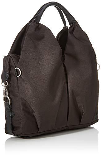Lässig Green Label Neckline Bag Wickeltasche/Babytasche inkl. Wickelzubehör aus recyceltem Material, black - 2