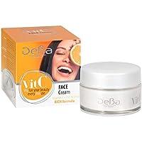 Crema facial diaria con vitamina C, fórmula rica con Pro-Retinol ...