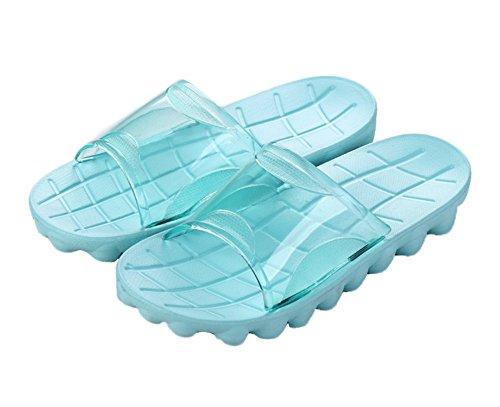 Auspicious beginning Adulti doccia confortevole antiscivolo pantofole sandali della spiaggia piscina Blu
