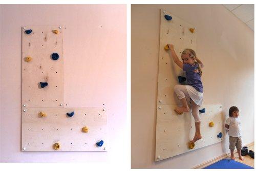 Parete Scalata Bambini : Parete da arrampicata per uso interno iw in casa e in stanzetta