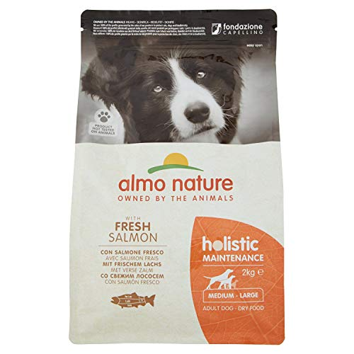 almo nature Holistic Dog Medium Salmone Secco Cane kg. 2