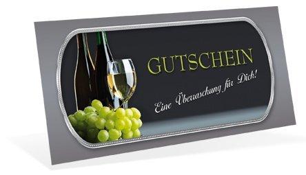 Gutscheine (10 Stück) für Ihre Kunden - Geschenkgutschein für Gastronomie, Restaurant, Weinhandel...
