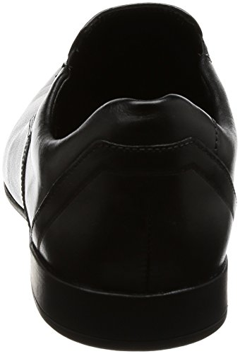 Clarks Clarks Mens Shoe Glement Slip Nero Pelle Schwarz