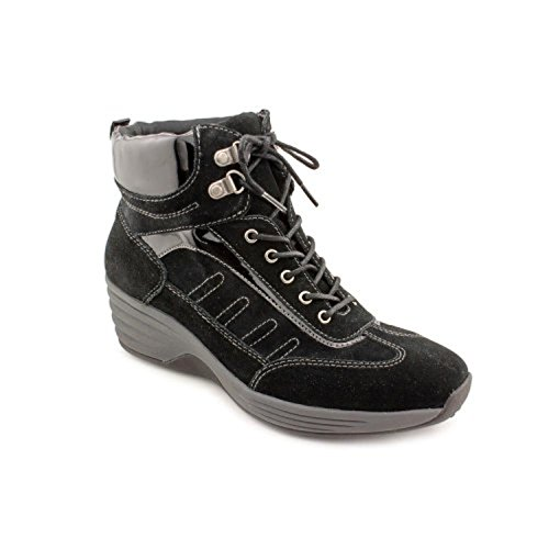 antigravity-by-easy-spirit-contender-womens-size-85-black-suede-sneakers-shoes