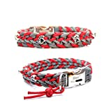 Paracord Halsband - Floating Colors, Hundehalsband, wahlweise mit Gravur und weiteren Extras