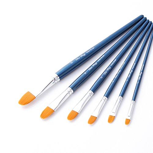 pixnor-6-nailon-juego-de-brochas-de-pintura-para-acrilico-aceite-acuarela-artista-pintura-azul