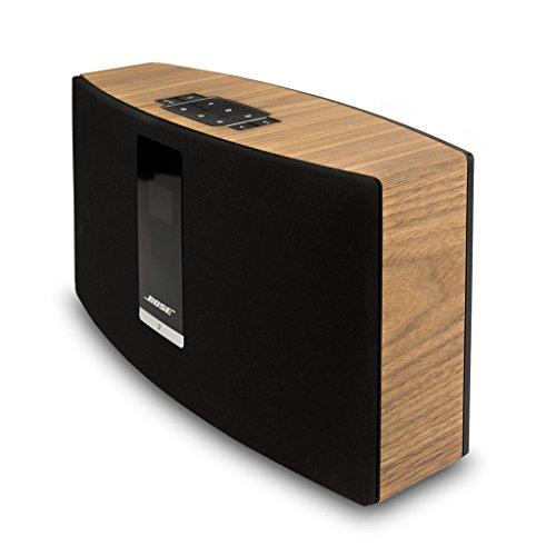 balolo® Walnuss Echtholz-Cover für Bose SoundTouch 20 - Zubehör Design Case Cover Skin Schutz-Hülle - 100% Handmade in Germany - 100% amerikanisches Walnuss-Holz