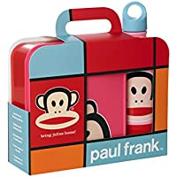 Room Copanhagen Paul Frank Lunch Set Pack Pink, Polipropileno (PP), Rosa,