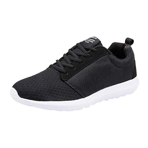 Yesmile Herren Damen Sneaker Slip on Sportschuhe Turnschuhe Outdoor Leichtgewichts Laufschuhe Freizeit Atmungsaktive Schuhe