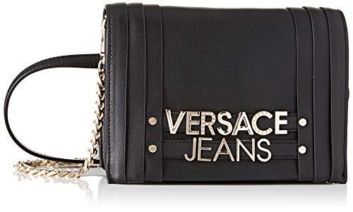 Versace Jeans Bag, Borsa a tracolla Donna, Nero, 5x14x20 cm (W x H x L)