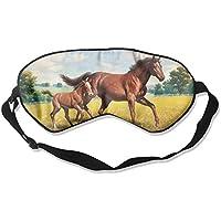 Sleep Eye Mask Horse Grass Running Lightweight Soft Blindfold Adjustable Head Strap Eyeshade Travel Eyepatch E6 preisvergleich bei billige-tabletten.eu