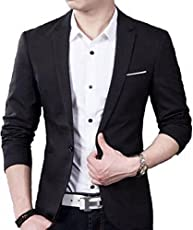 personalityplus Men's Slim fit Party wear Blazer Size 36