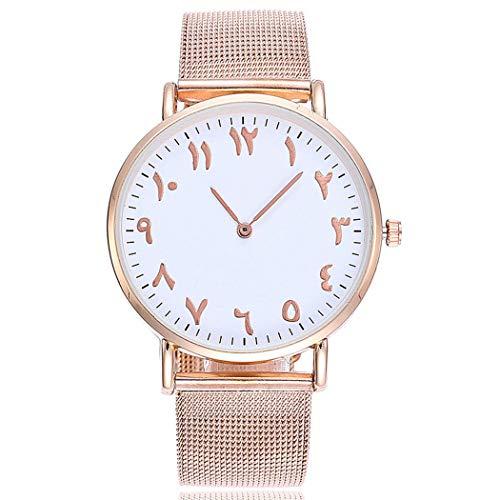 Kisshes Klassisch Edelstahl Armbanduhr Fashion Damenuhren Wasserdicht Herrenuhren Unisex Einfach Stil Analog Runde Uhr