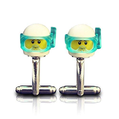 LEGO® Scuba Diver gemelos boda