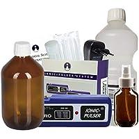 Ionic-Pulser® PRO Silber-Generator + Wasser + Medizinflasche und Sprühflasche preisvergleich bei billige-tabletten.eu