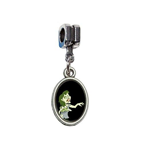 arz–Undead italienischen europäischen Euro-Stil Armband Charm Bead–für Pandora, Biagi, Troll,, Chamilla,, andere (Zombie Kid Kostüme)