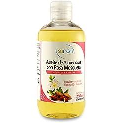SANON - SANON Aceite de Almendras con Rosa Mosqueta 250 ml