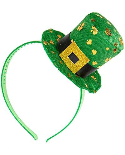 Horror-Shop Kobold Mini-Hut für St. Patricks Day (Das Kobold Kostüm Tragen)