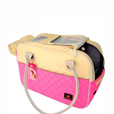 Removable & Washable Pet Carrier Soft Sided Cat / Dog Comfort Travel Tote Bag Hand Bag Airline Approved For Any Season