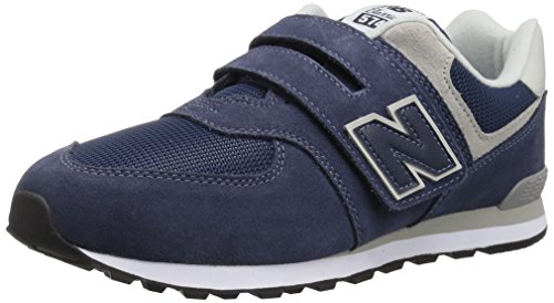 New balance calzature sportive bambino, color blu, marca, modelo calzature sportive bambino 574 gv infant blu