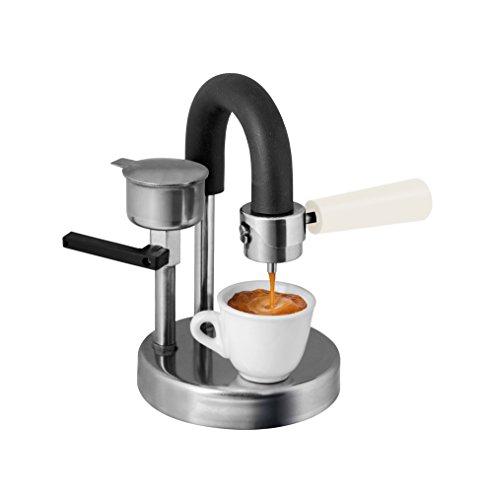Kamira colore avorio, l'espresso cremoso sul fornello di casa. Il perfetto regalo di Natale.