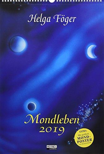 Mondleben 2019: Wandkalender por Helga Föger