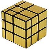 Fiddly's High Stability Stickerless Speed Cube (Golden Mirror)
