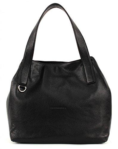 Coccinelle Mila Shopper Tasche Leder 31 cm nero