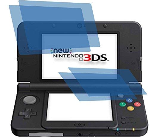 4x ANTIREFLEX matt Schutzfolie für Nintendo New 3DS Premium Displayschutzfolie Bildschirmschutzfolie Schutzhülle Displayschutz Displayfolie Folie