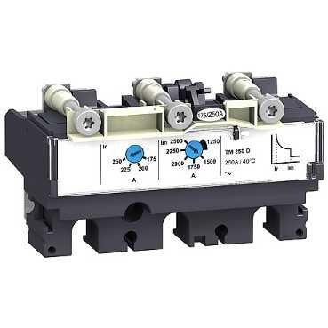 SCHNEIDER ELEC PBT - PAC 55 01 - UNIDAD CONTROL MAGNETOTERMICO TM100D 3 POLOS 3R NSX100