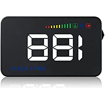 universel voiture hud head up display obd gps affichage t te haute interface plug. Black Bedroom Furniture Sets. Home Design Ideas