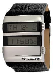 RG512 - G32361-203 - Montre Homme - Quartz Digital - Cadran Gris - Bracelet Cuir Noir