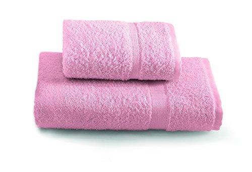Gabel tintunita & co set asciugamani, 100% cotone, rosa, 100x60x0.8 cm