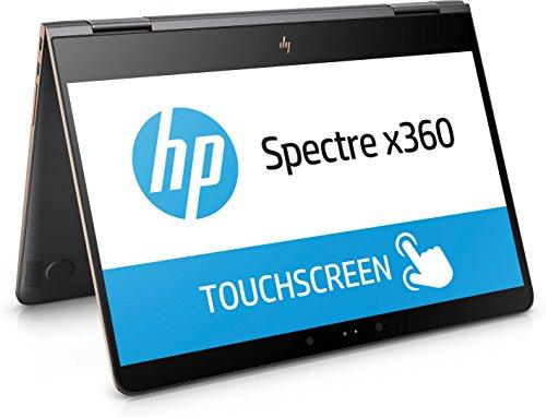 HP Spectre x360 (13-ac005ng) 33,8 cm (13,3 Zoll / 4K Touchscreen) Convertible Ultrabook (2in1 Laptop mit Intel Core i7-7500U, 16 GB RAM, 512 GB SSD, Intel HD-Grafikkarte 620, Windows 10 Home)  grau/kupfer