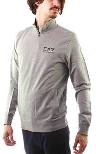 EA7 Emporio Armani 6XPM53 PJ05Z 3905 felpa grigio
