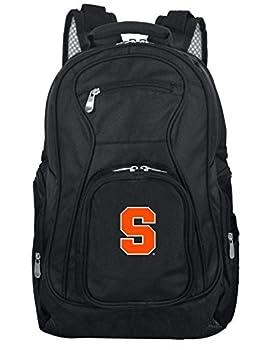 """Denco Unisex Ncaa Syracuse Orange Voyager Laptop Backpack Inches, Black, 19"""" 0"""