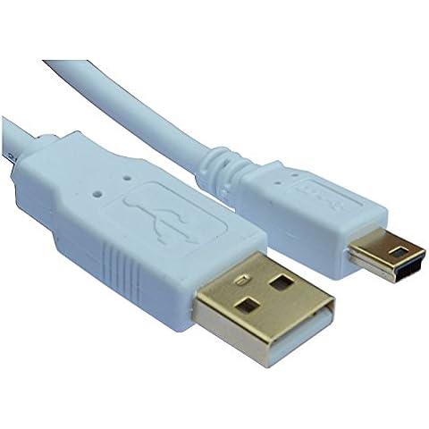 Mini USB de carga y cable de sincronización para GPS Sat Nav dispositivos–TomTom ONE | Start | XL | Via | Rider Series (consulte la descripción para dispositivos compatibles)
