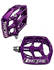 Hope F20, Flat Pedals-Purple by Hope