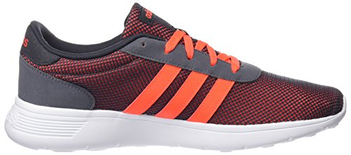 adidas Herren Lite Racer Sneaker Grau/Orange