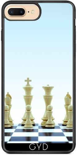 Funda de silicona para Iphone 7/7S Plus - Tablero De Ajedrez by Carsten Reisinger