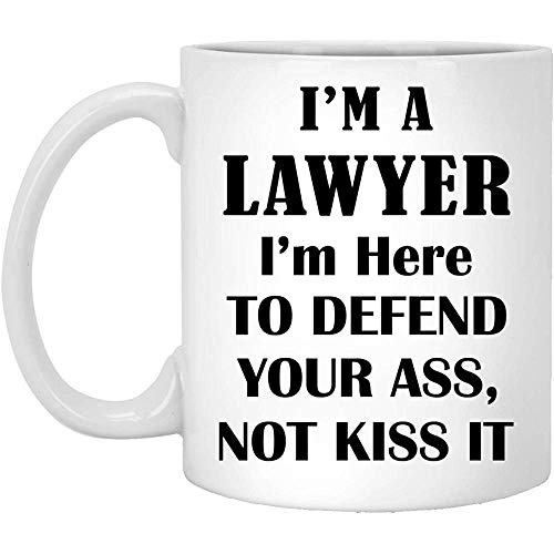 Im A Lawyer Mug Gifts For Men Women - Bar Exam Passer Attorney Coffee Tea Cup Funny